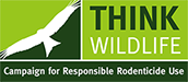 Logo Think Wildlife Campaign for Responsible Rodenticide Use (CRRU)